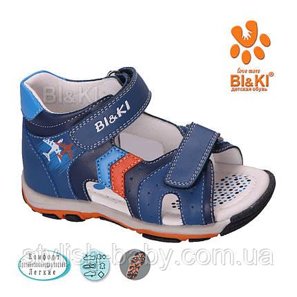 Детская летняя обувь оптом. Детские босоножки бренда Tom.m (Bi&Ki) для мальчиков (рр. с 21 по 26), фото 2