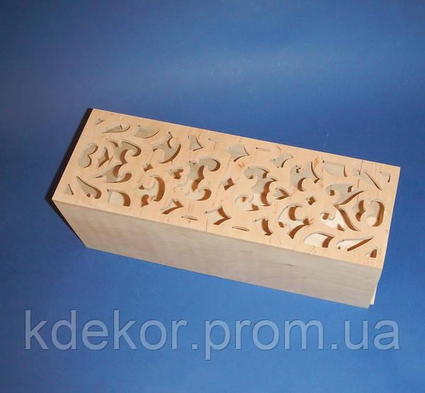 Короб пенал заготовка для декупажа и декора