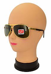 Мужские солнцезащитные очки со стеклянными линзами