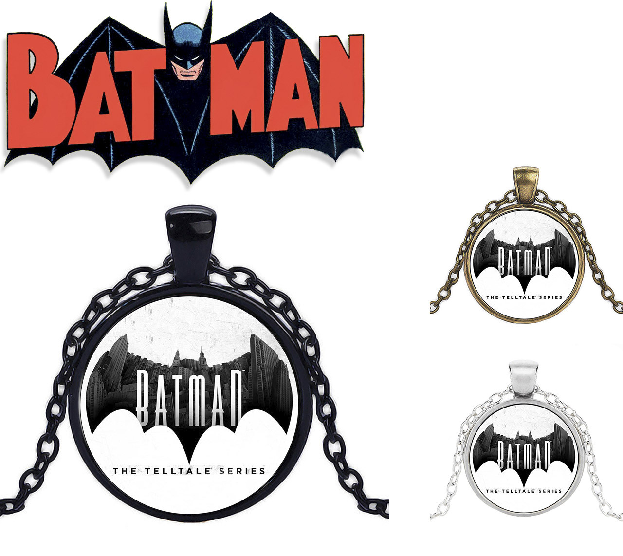 Кулон логотип Бэтмена Batman DC комиксы