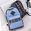 Оригинальный рюкзак с вышивкой в этно-стиле, цвета в наличии