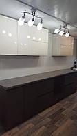 Продажа с выставки: кухня 3 метра, шпон и краска