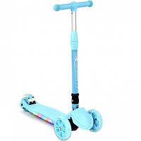 Детский трехколесный самокат А 24731/ 881-1 L Best Scooter, голубой