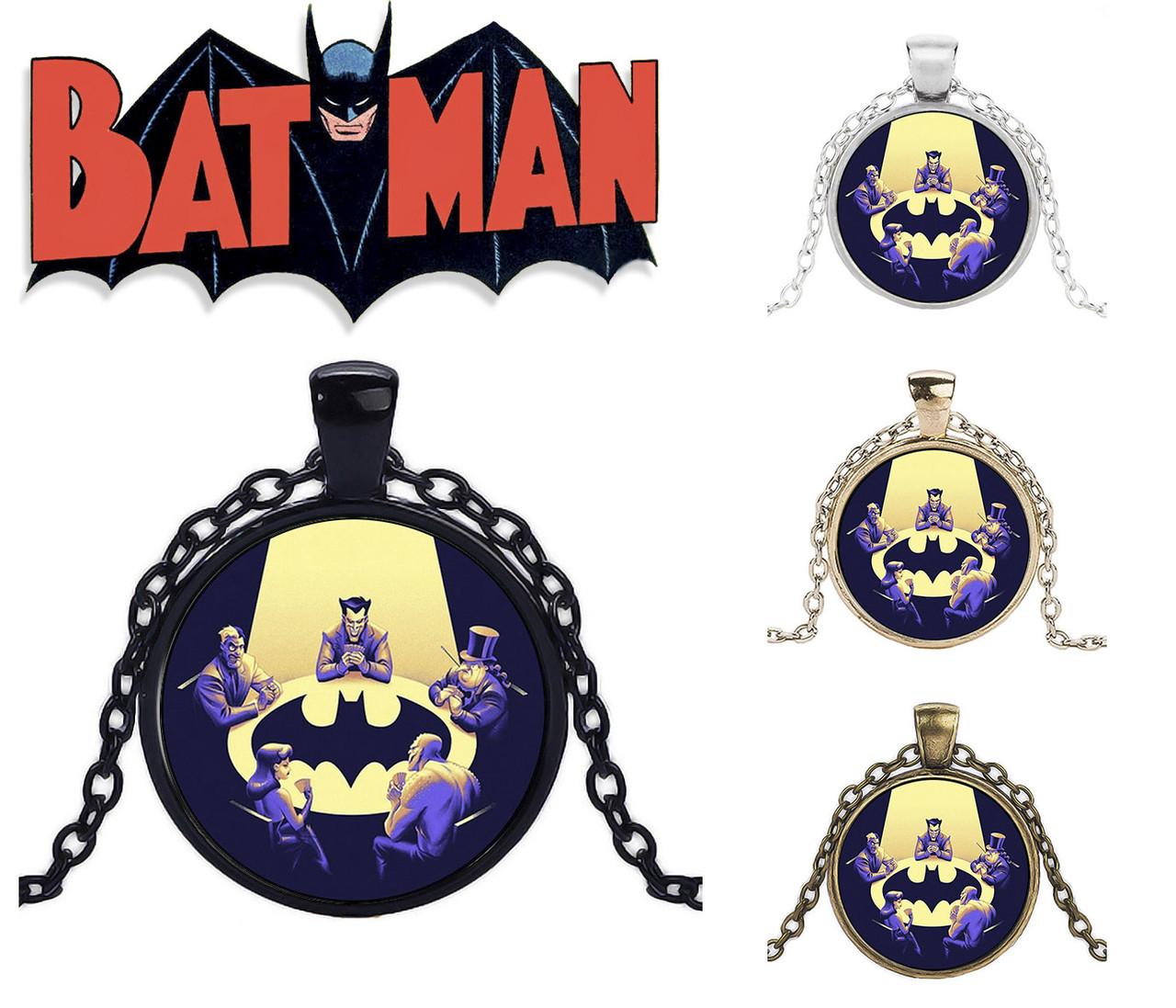 Кулон враги Бэтмена.
