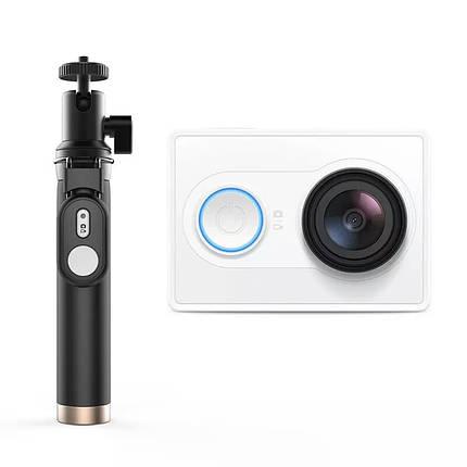Экшн-камера Xiaomi Yi  Action Camera white EU Version + Yi Selfie Stick (монопод) + блютуз, фото 2