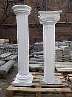 Колонна из бетона тип №22 с канелюрами