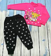 """Ясельный костюм для девочек """"Селфи"""" (розовый)"""