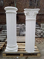 Колонна из бетона тип №33 с канелюрами