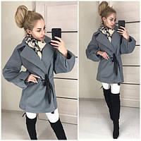 Женские кашемировое пальто мод.0202, фото 1