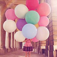 Большие воздушные шарики, надувные шарики для праздников, фотосессии, свадеб, дня рождения 90см, фото 1
