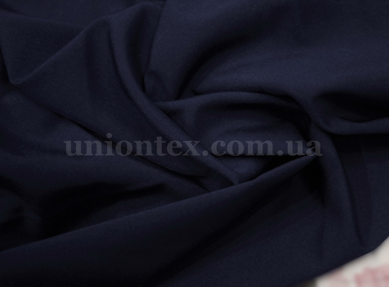 Ткань супер- софт темно-синий