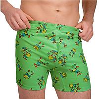 Трусы боксеры мужские Sealine 010-014 ( 1 шт в уп) цвет зелёный