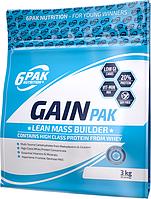6pak Nutrition Gain PAK, 3 kg