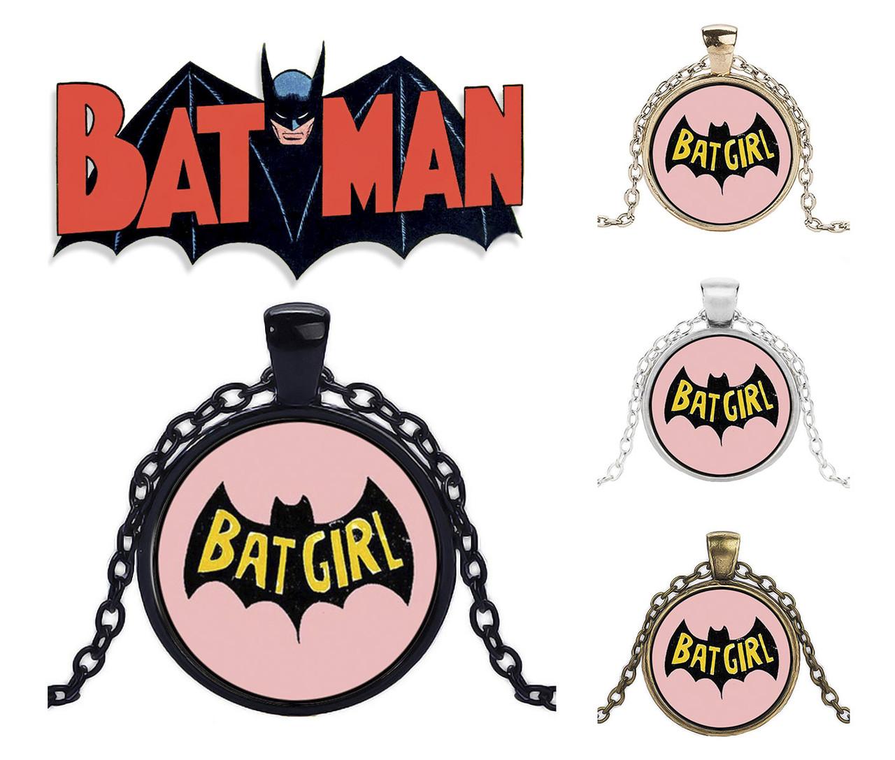Кулон девушка Бэтмена по мотивам Бэтмена Batman DC комиксы