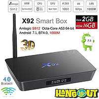 X92 TV Box Amlogic S912, 2Gb+16Gb