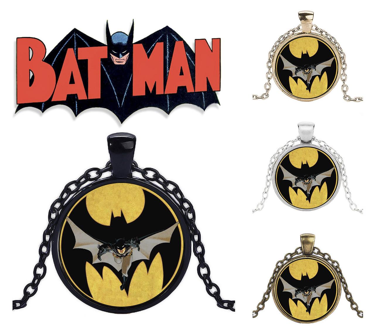 Кулон с изображением Бэтмена Batman DC комиксы