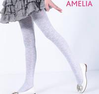 Kолготки для девочек с рисунком AMELIA 40 DEN Giulia, разные цвета р 104-158