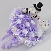 Свадебный букет №88 (подарок на свадьбу, букет невесты, на годовщину)