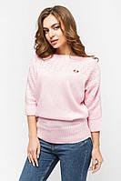 Кофта  женская вязаная розовая., фото 1
