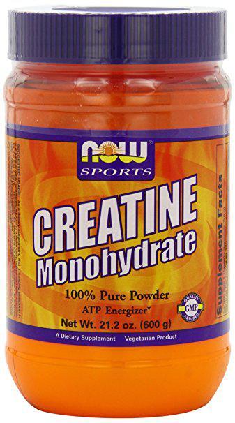 Креатин NOW Creatine Monohydrate (600 г) нау моногидрат