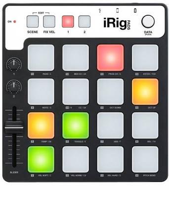 MIDI-контроллер IK MULTIMEDIA iRIG PADS, фото 2