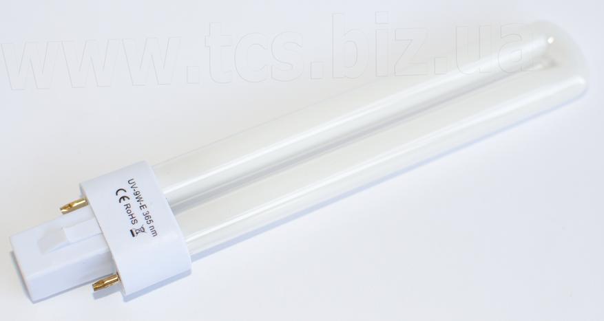 UV-9W-E 365nm УФ-лампочка, фото 2