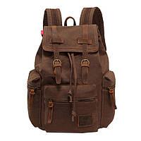 Рюкзак мужской кожаный Augur MT