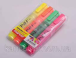 Набор маркеров для текста, 4 цвета