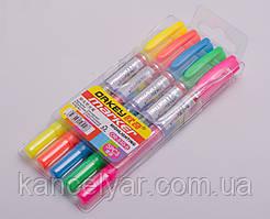 Набор маркеров для текста, 5 цветов