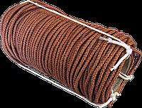 Шнур кордовий плетений 6 мм*100 м (з дротом), фото 1