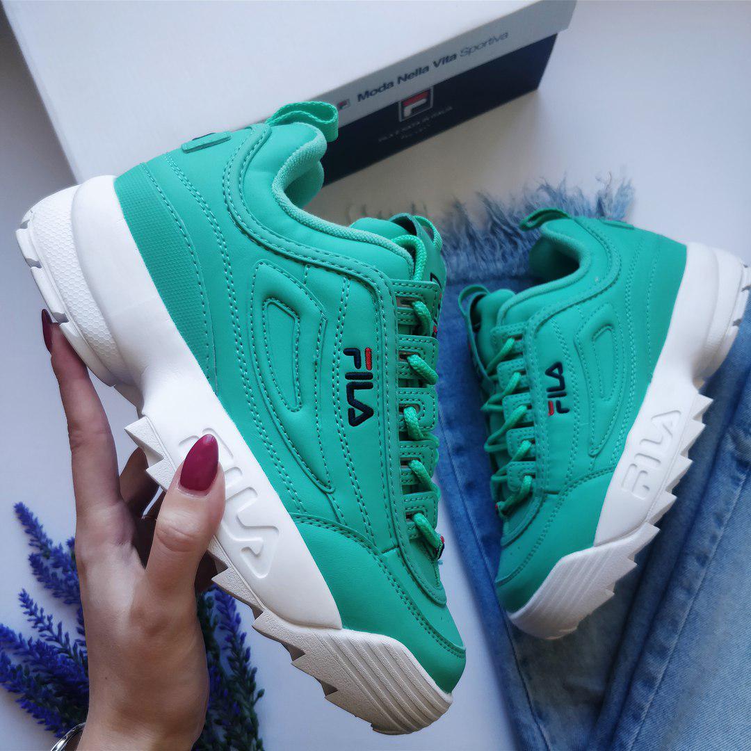 Женские кроссовки в стиле FILA Disruptor (37, 38, 39, 40 размеры)