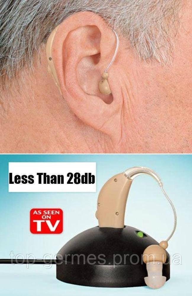 Аккумуляторный слуховой аппарат ultra sound amplifier