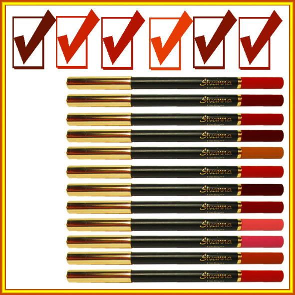 """Купить карандаши косметические, карандаши для губ Разных Цветов цвета, матовый карандаш для контура губ, карандаши для губ, контурный карандаш, карандаши для губ, набор карандашей для лица, по оптовой цене можно в нашем интернет магазине косметики http://opt21.com, с доставкой по всей Украине от Компании """"Маргарита"""" Днепр"""