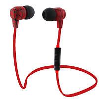 Беспроводные Bluetooth наушники Noisy Vipe Красные (hub_TtYF34512111)