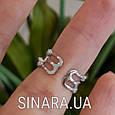 Серебряное кольцо на фалангу - Кольцо на флангу серебро , фото 4