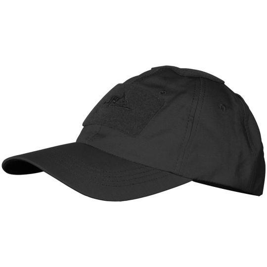Бейсболка Helikon PoliCotton Ripstop Black  (CZ-BBC-PR-01)