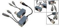 01-18-43. Передатчик-приемник аудио-видео сигнала + питание, по витой паре