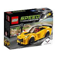 Конструктор LEGO Speed Champions 75870 Шевроле Корвет Z06