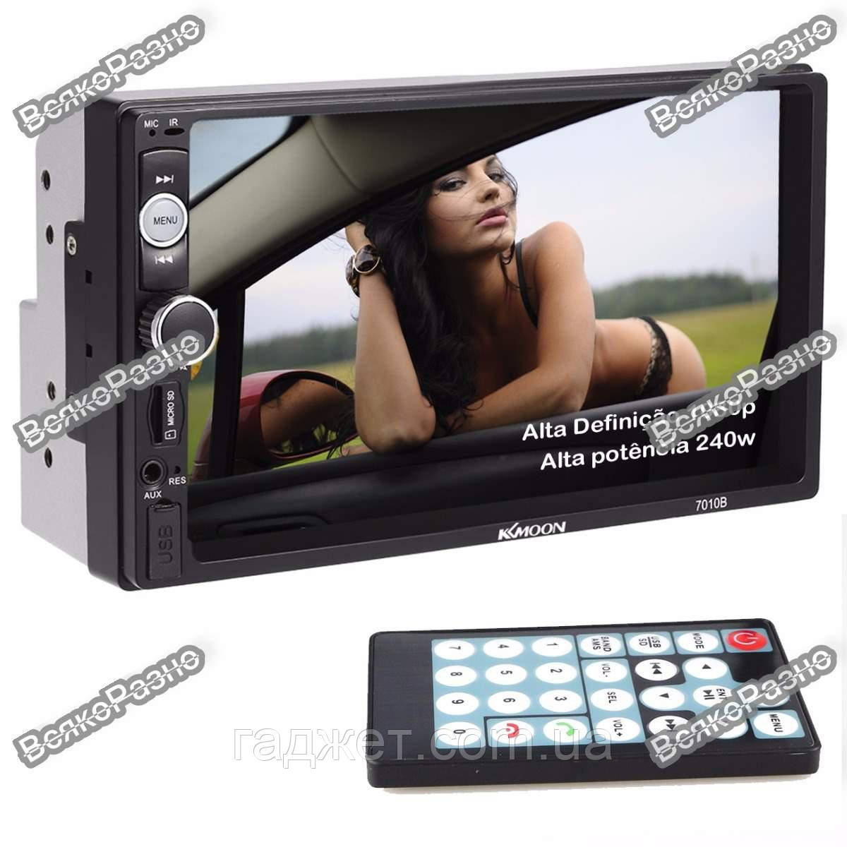 Автомагнитола 2DIN KKMOON (Pioneer) 7010b\7018b. USB+SD+Bluetoth+Видео вход.