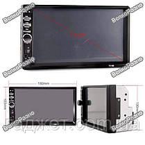 Автомагнитола 2DIN KKMOON (Pioneer) 7010b\7018b. USB+SD+Bluetoth+Видео вход., фото 2
