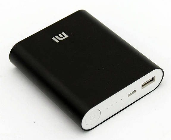 Power Bank Xiaomi Mi 10400mAh black (60%), фото 2