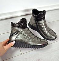 Ботинки демисезонные без каблука (спорт) , фото 1