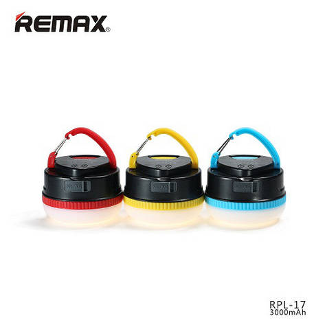 Power Bank Remax YE series RPL-17 3000 mAh black-red, фото 2