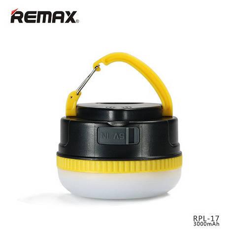 Power Bank Remax YE series RPL-17 3000 mAh black-yellow, фото 2