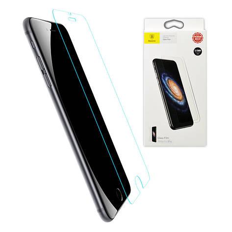 Baseus 0.3mm Transparent Anti-bluelight Tempered Glass Film For iPhone X Transparent, фото 2