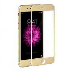 Стекло 4D for iPhone 6 gold, фото 2