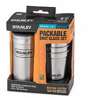 Набор Stanley фляга + 4 рюмки Adventure Combo стальной (ST-10-01705-017), США