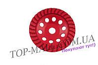 Алмазный диск для шлифовки бетона Intertool - 180 мм, турбоволна