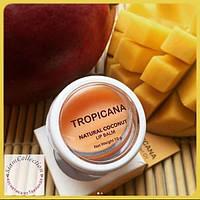 Бальзам для губ с кокосовым маслом Тропикана Virgin coconut oil balm Tropicana