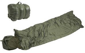 Спальний мішок Mil-Tec Pilot Olive (185х75 см) (14101001)